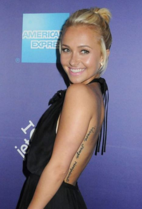 Hayden Panettiere's Tattoos