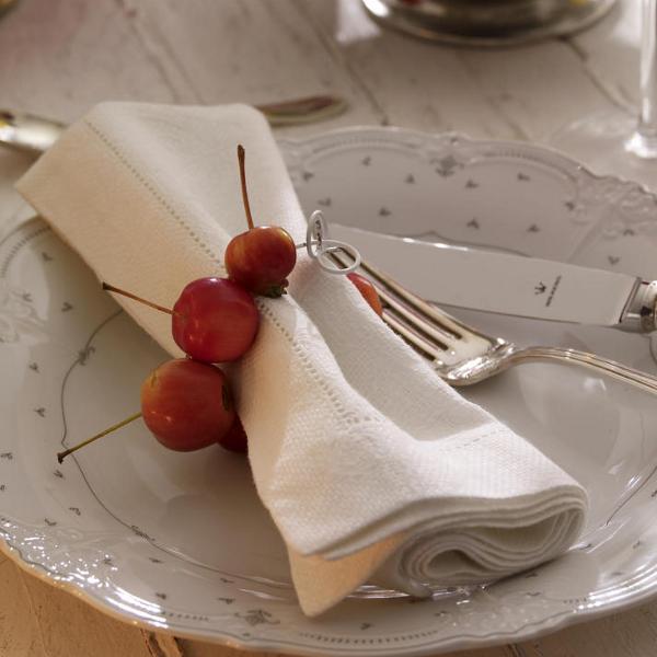 Serviettenringe aus Zieräpfeln