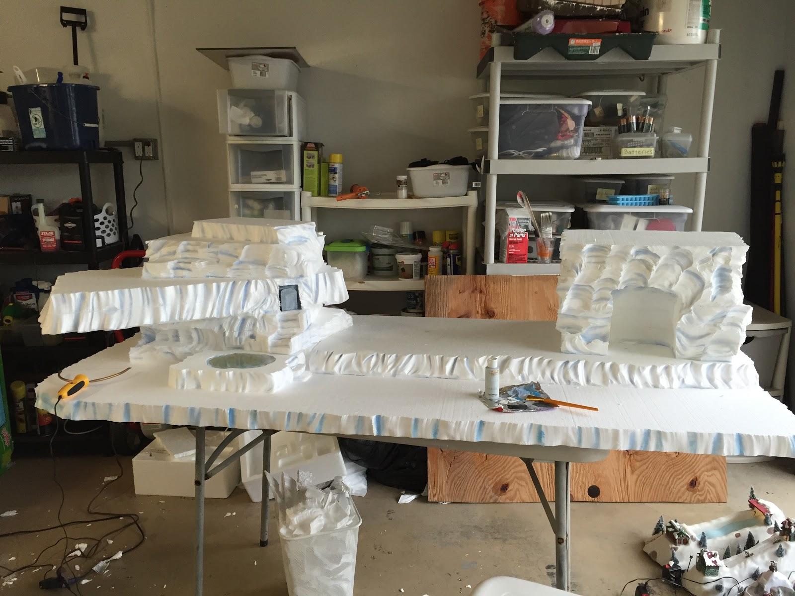 Copeland Christmas Blog: Making a mini Christmas Village Using ...