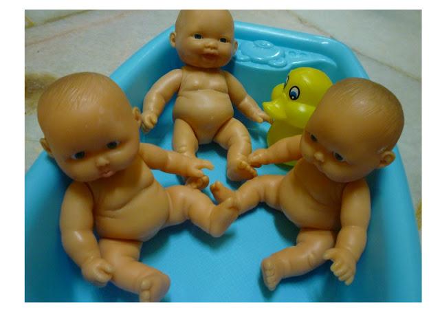 Little Baby Dolls Bath Time Tub cutest ever