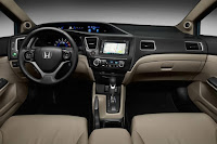 2015 New  Honda Civic MOdel Hybrid interior dashboard