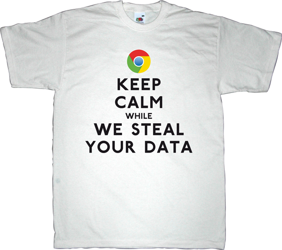 google internet privacy search engine george orwell evil big brother 1984 t-shirt ephemeral-t-shirts