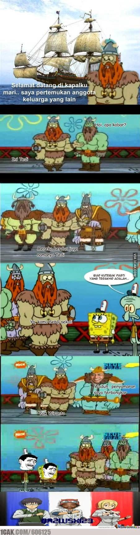 Meme Lucu Wiranto Menyamar 3