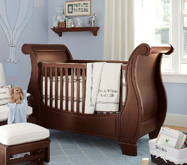 Hermosa Muebles De Color Marrón Cuna Componente - Muebles Para Ideas ...