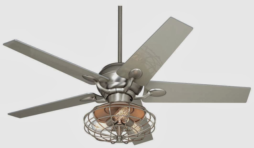 Industrial Ceiling Fan Makeover Using Vintage Mattress