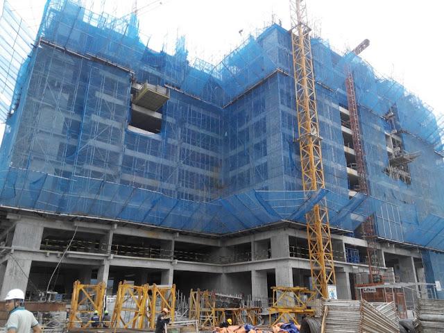 tiến độ xây dựng Ruby 1 Goldmark City