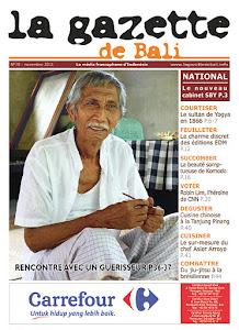 La gazette de bali novembre 2011