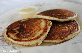 Almond-Poppy Seed Pancakes
