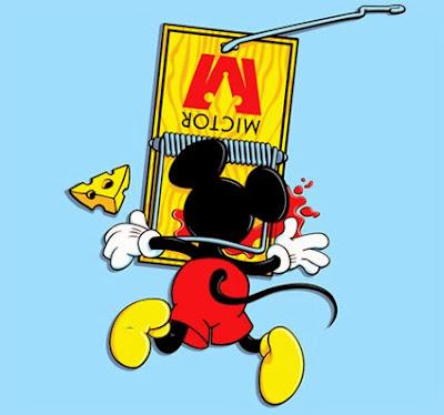 Mickey Mouse muerto Strauffon blog