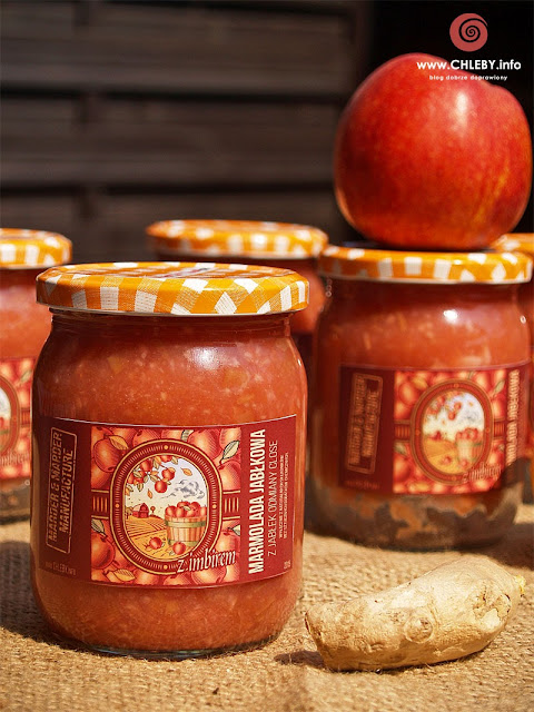 Marmolada jabłkowa z imbirem