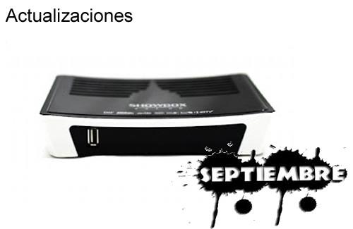 Actualización SHOWBOX SAT HD PLUS 02 Septiembre 2013