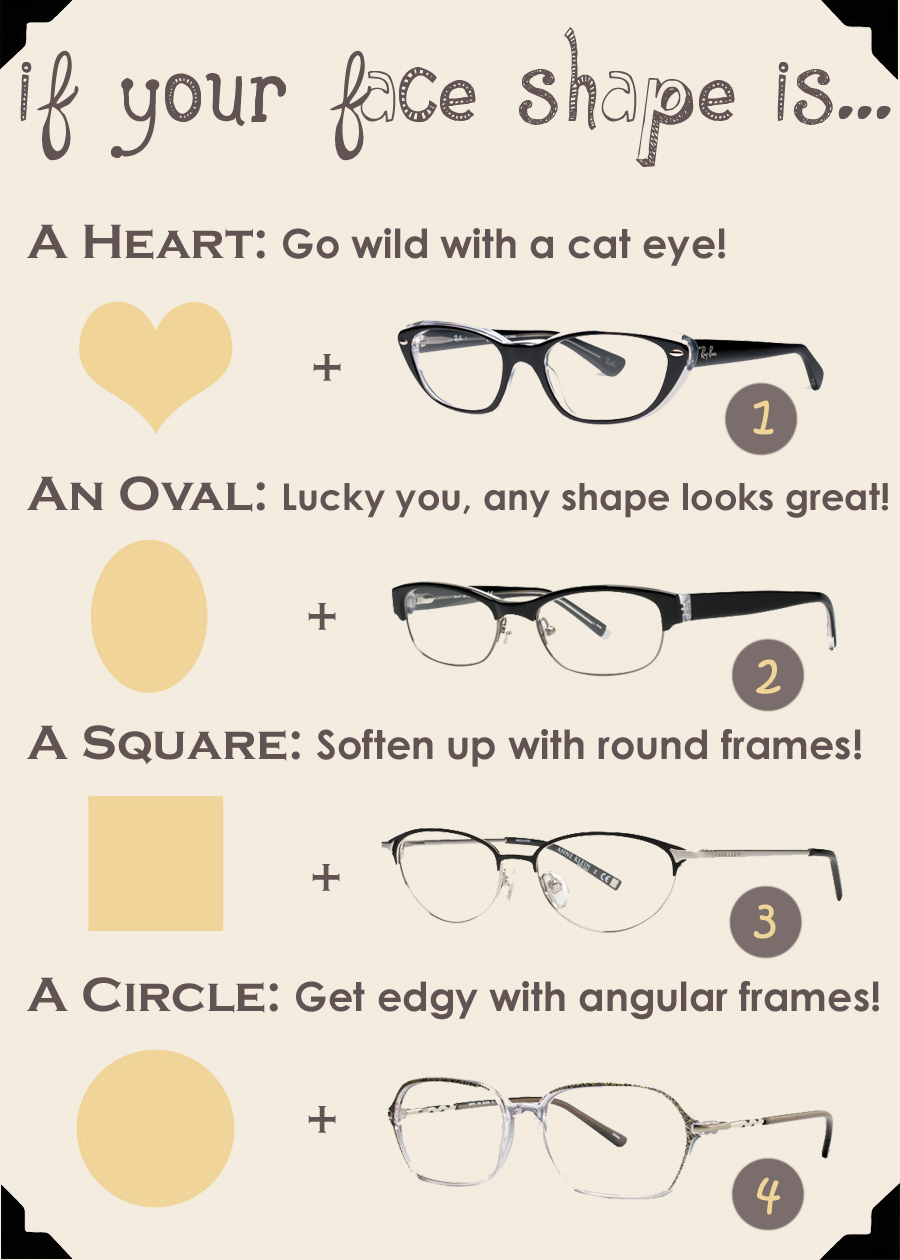 Beauty Fashion & Style: Glasses for your face shape! How to choose