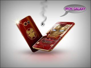 Iron Man Samsung Galaxy S6 Edge