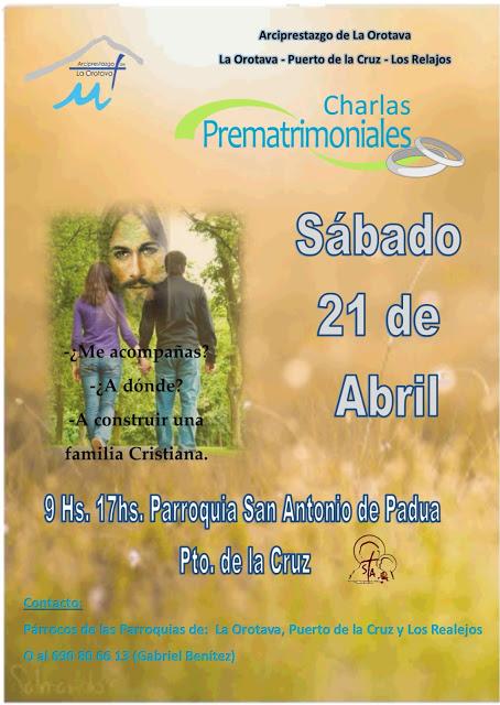 Charla Prematrimonial