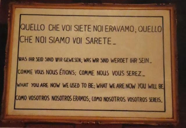 Lugares Sobrenaturais - A Cripta dos Ossos dos Capuchinhos