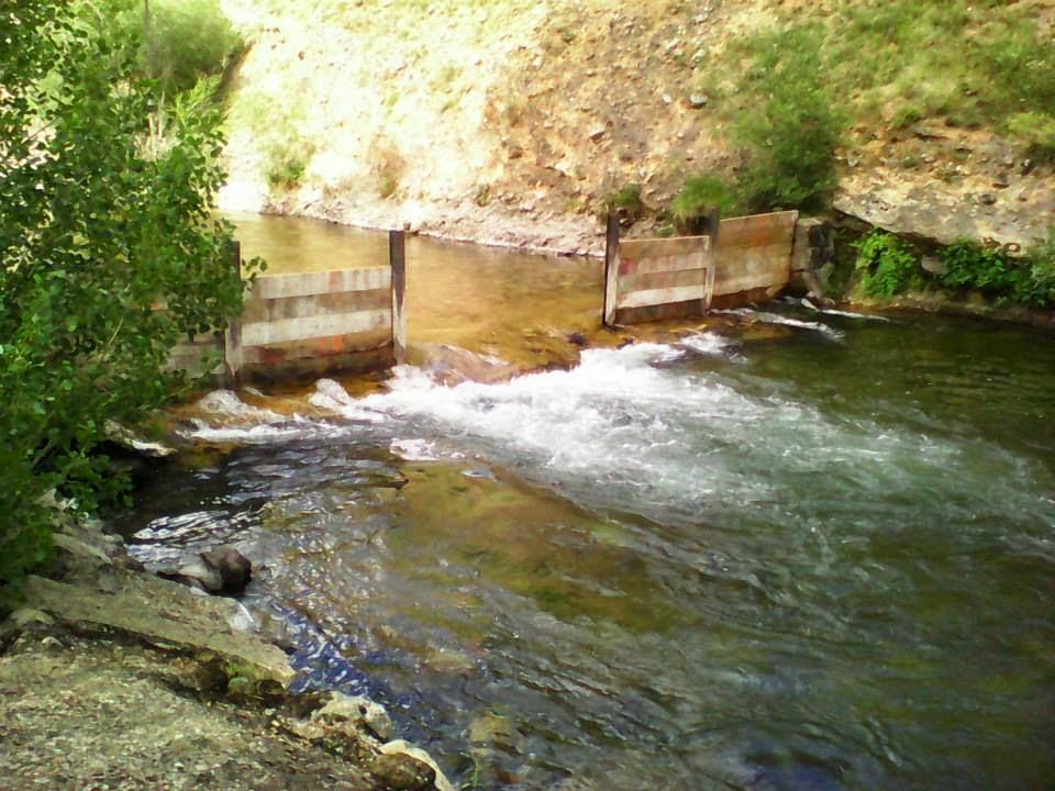 El blog de la mata de curue o le n campamento arca de for Piscinas fluviales leon