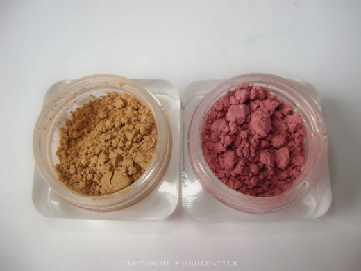 Lumiere Mineral Blusher/Bronzer Hibiscus and California Gold