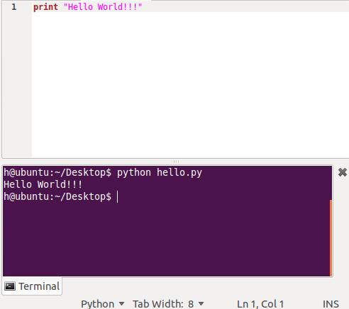 And You Can Get The Look Feel Want For Your Embedded Terminal In Gedit