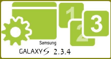 Rooter Galay s en 2.3.4 XXJVQ - XXJVQ 2.3.4 pour Galaxy S i9000