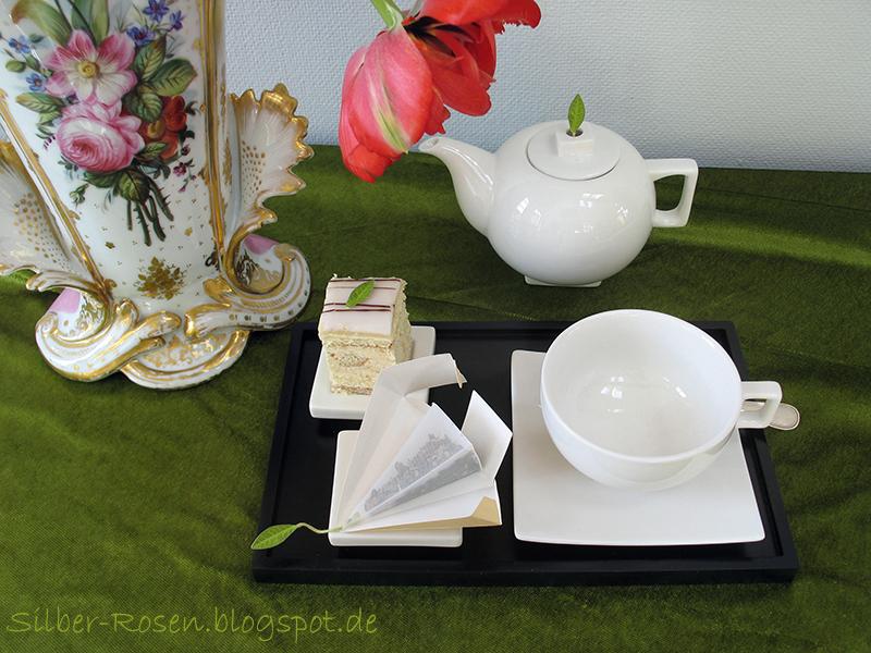 Die Tea forté Teepyramiden wirken edel und sind hochwertig.