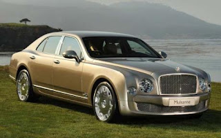 Famous Bentley mulsanne