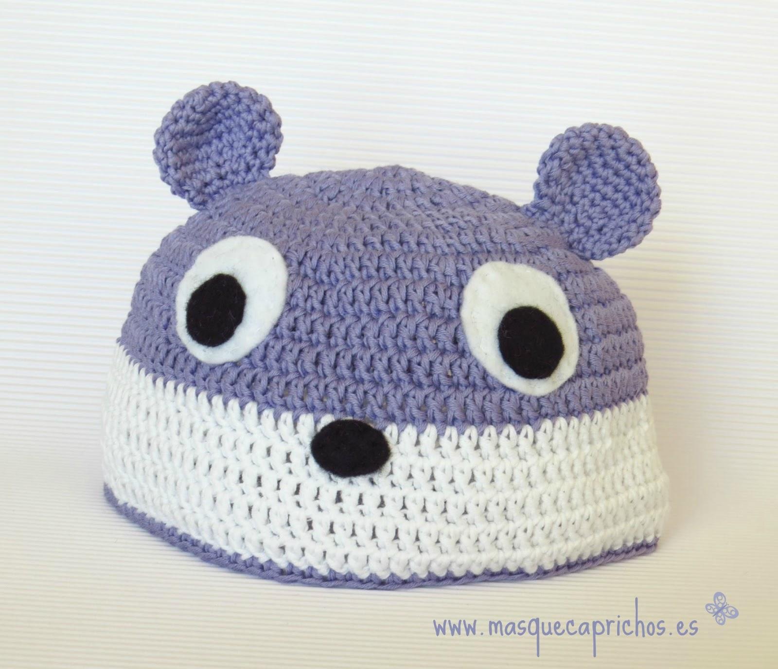 Gorro Crochet Bebé