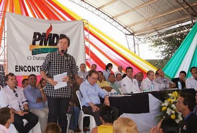 7º Encontro do PMDB em Iguatu reúne mais de 3 mil pessoas