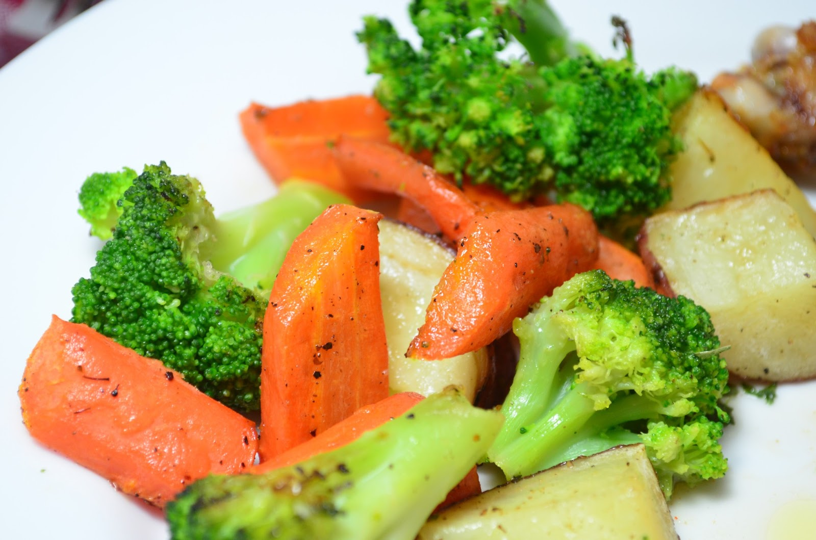 Roasted Broccoli And Carrots Recipes — Dishmaps