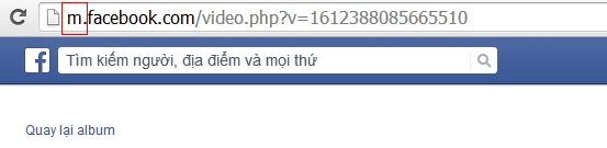 Tai video tu Facbook ve may tinh