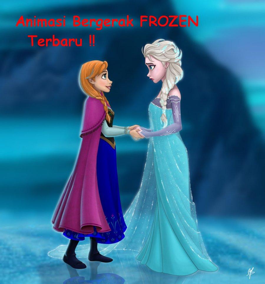 Gambar Animasi Frozen Bergerak Lucu Animasi Elsa Top Meme