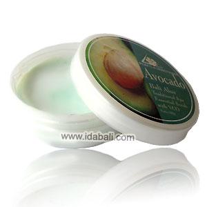 Body scrub /Lulur Bali Alus Avocado secara lembut meluruhkan sel - sel