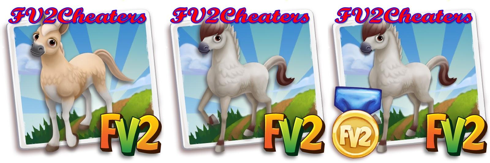 Marvelous Farmville Horse #6: Farmville 2 Cheat Code For White Fjord Horse
