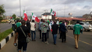 Protest in Osun over minimum wage