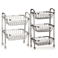 But Pigeon Fruity Trolley 2 Stack Rs. 599, 3 Stack Rs. 800 :buytoearn