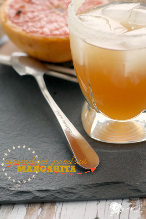 Caramelized Grapefruit Margarita