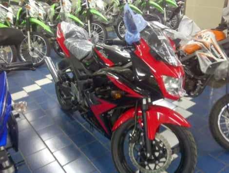 Warna dan striping baru Kawasaki Ninja 150RR 2014