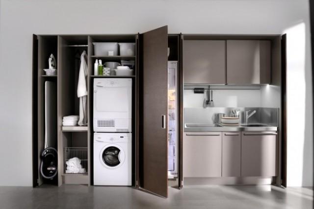 tambin se puede utilizar para espacios pequeos o para pequeas cocinas integradas en oficinas