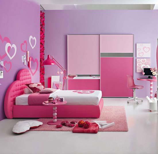 Fotos de dormitorios juveniles en color rosa ideas para - Disenar habitacion juvenil ...
