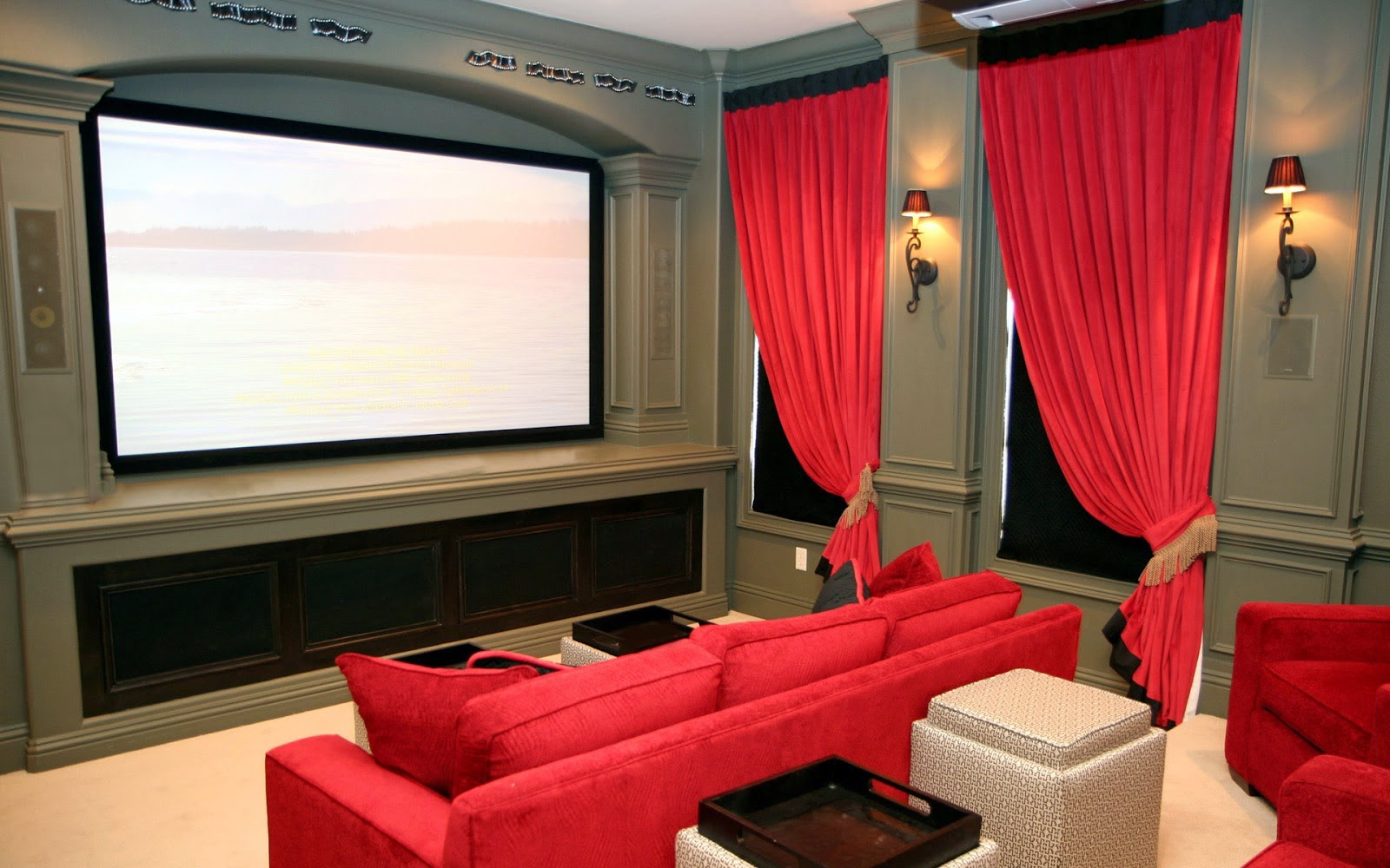 Media room lighting ideas. media room furniture media room lounge ...