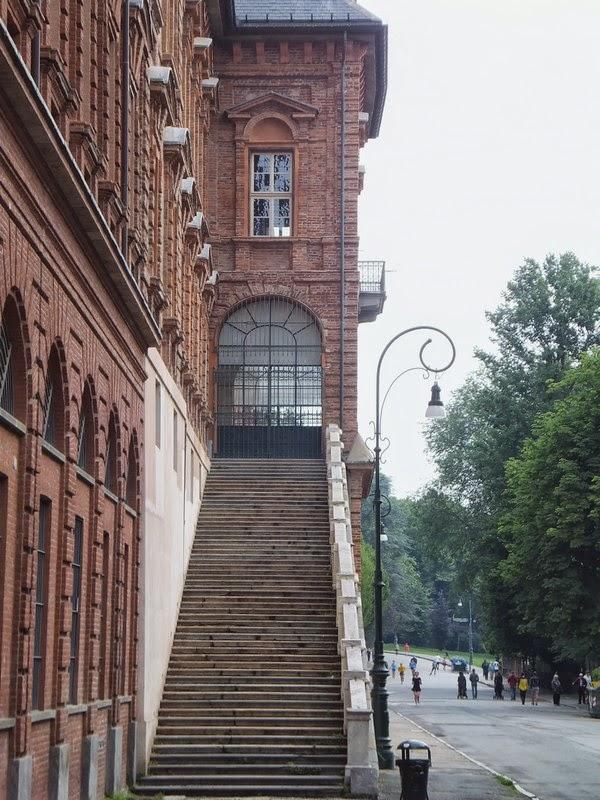 Turin Italie Pô parc parco del valentino castel château
