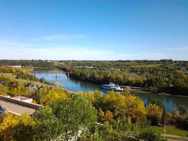 edmonton river valley fall
