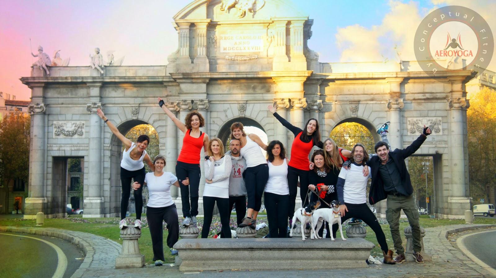 Bienvenidos a todos los futuros profesores de Yoga Aéreo©, Pilates Aéreo© y Fitness Aéreo© AeroYoga® Institute Madrid Marzo 2014! los esperamos con los brazos abiertos!.   DEBIDO AL EXITO DE LA PROMOCION DE MARZO 2013 HEOS ABIERTO NUEBVO CURSO!  FECHAS MADRID  2-9 Marzo 2014 (COMPLETO!)  9-16 Marzo 2014 (Plazas limitadas!)  aeroyoga.es  www.aerialyoga.tv  www.aerialpilates.tv (english)  www.yogaaerien.com  www.pilatesaerien.com (français)  MAIL: aeroyoga@aeroyoga.info