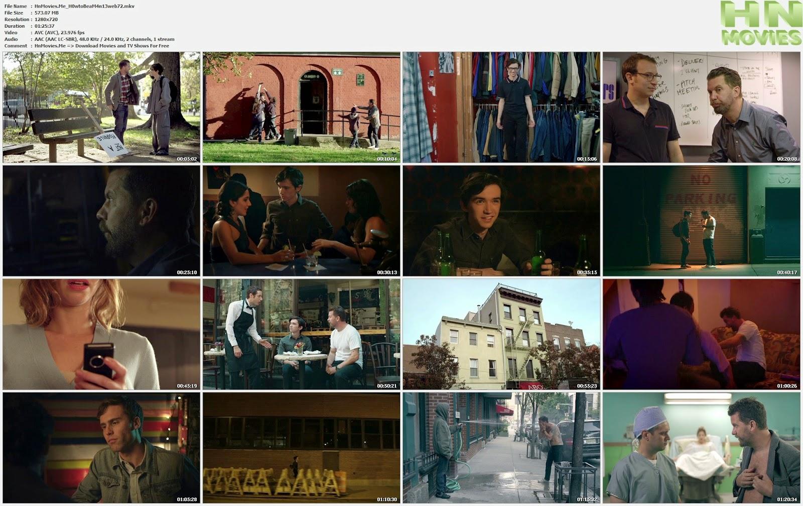 movie screenshot of How to Be a Man fdmovie.com
