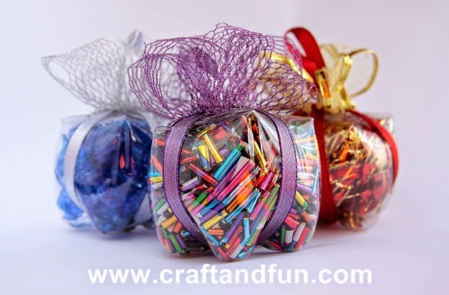 Exceptionnel Riciclo Creativo - Craft and Fun: Idee di Natale: Riciclo  ME62