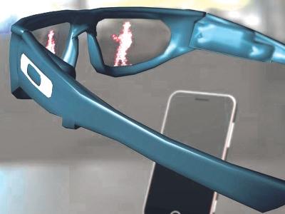 Cermin mata yang dilengkapi kamera khas akan melalui beberapa proses ujian bermula Januari depan.