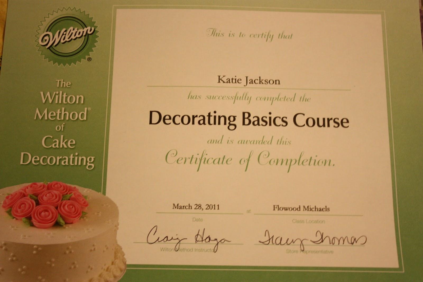 Cake Decorating Certificate Program : Jackson Family Farm: Cake Decorating ~ 4 weeks of ...