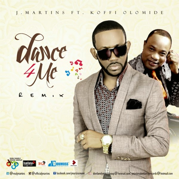 Nigeria x Congo! Watch J. Martins feat. Koffi Olomide – Dance 4 Me