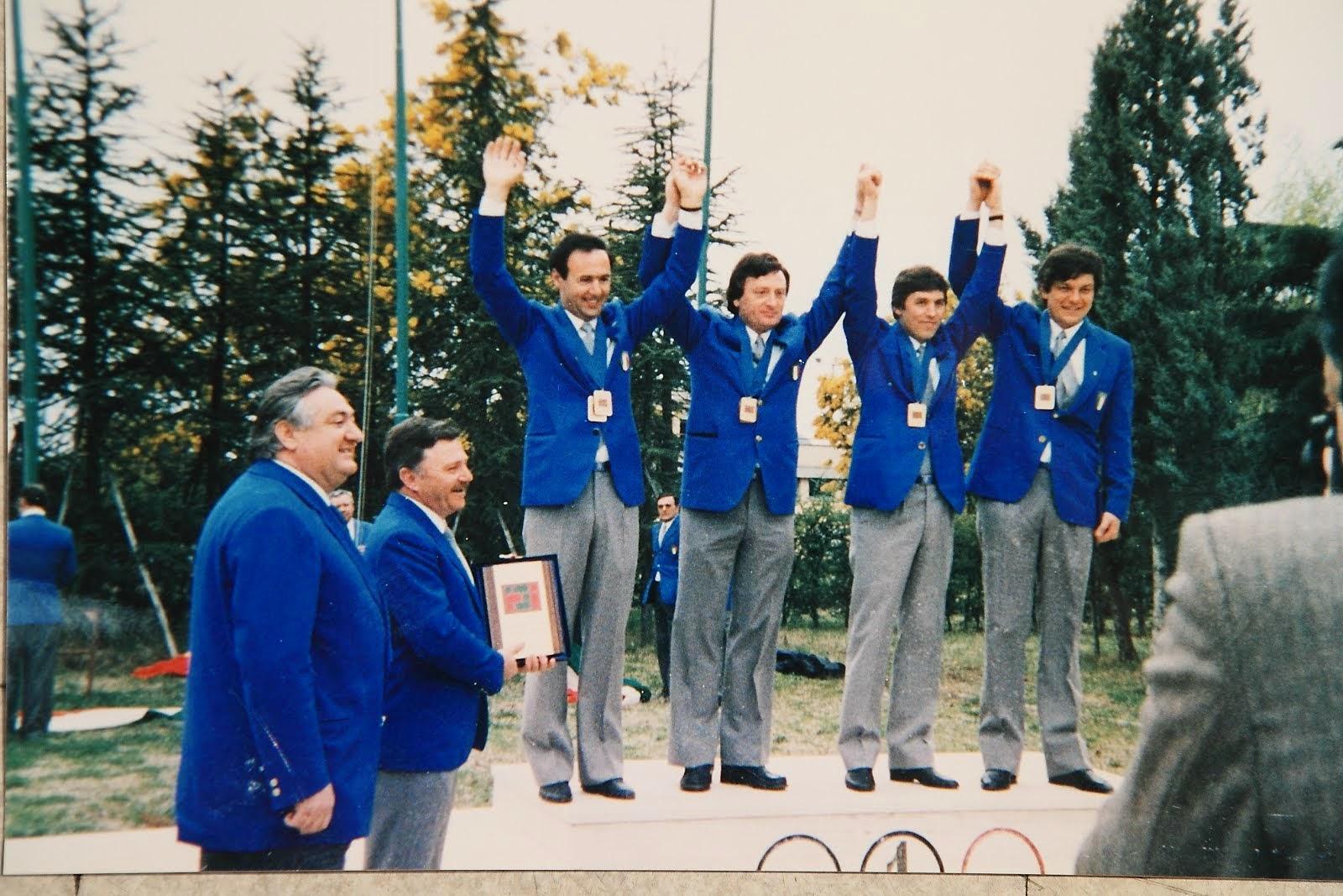 1984 - Gran Premio delle Nazioni - Oro a Squadre e Bronzo Individuale.
