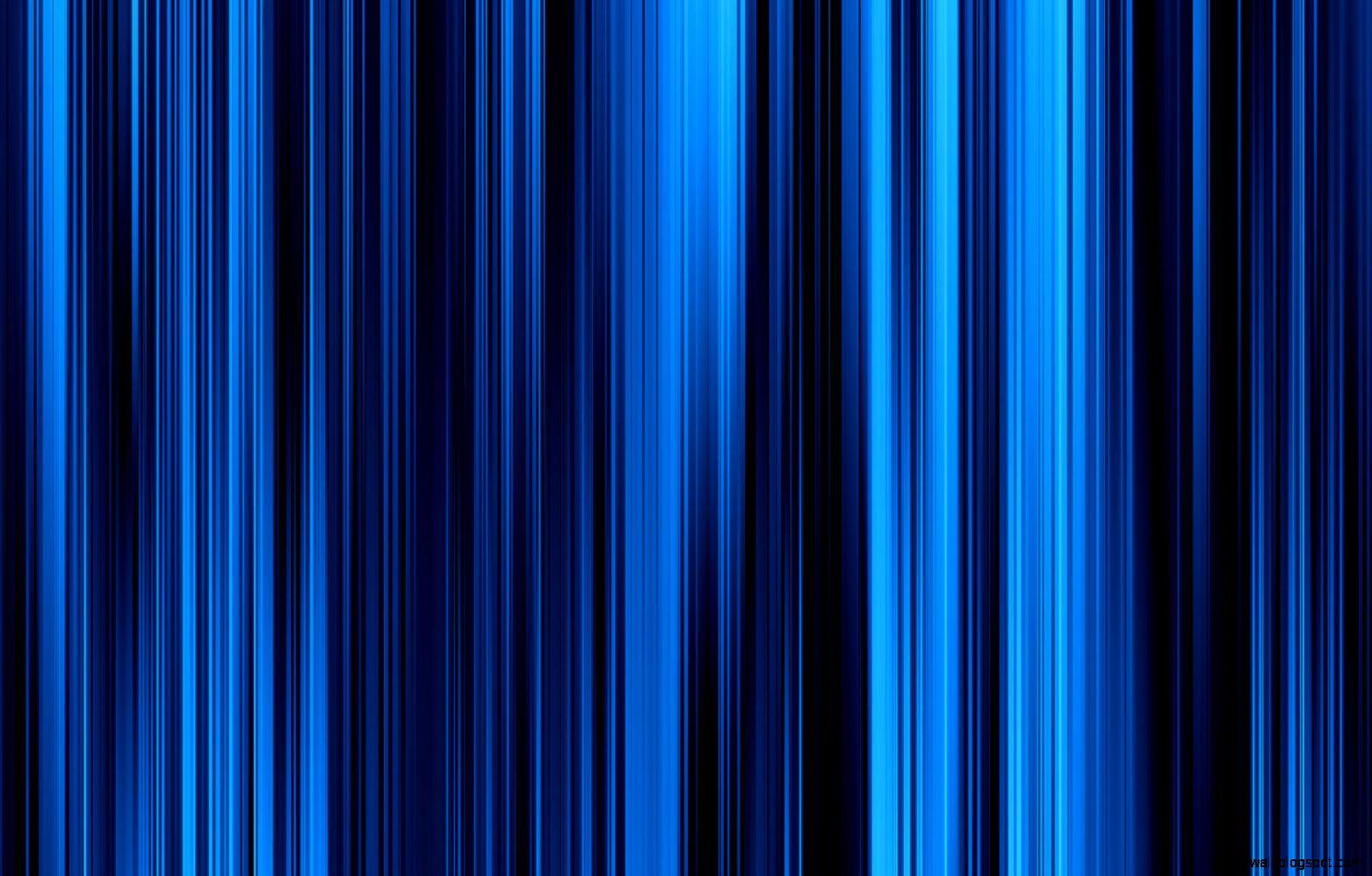 Blue Striped Wallpaper