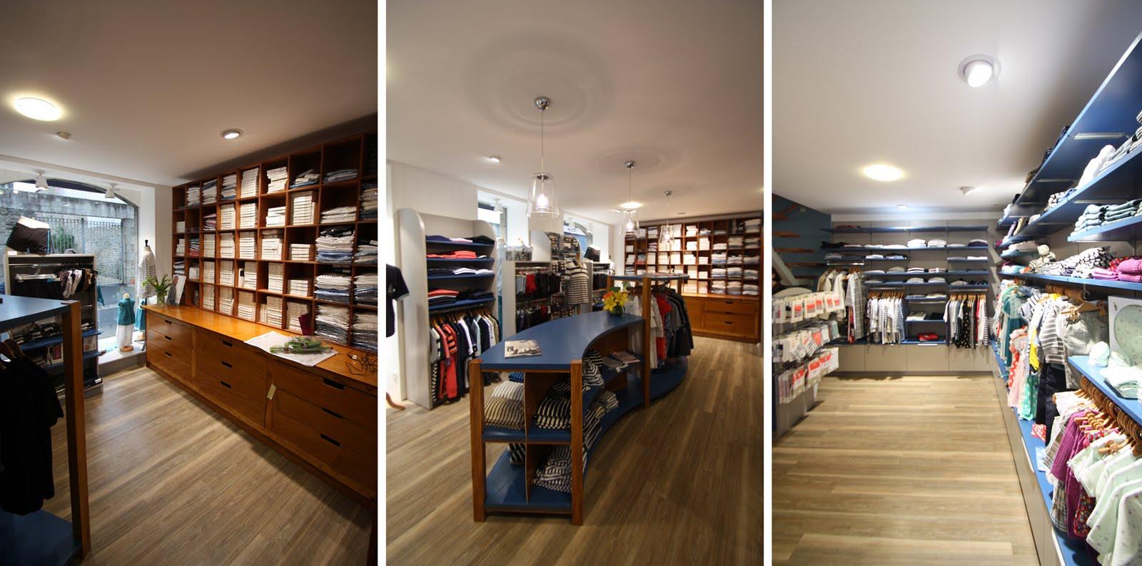 a l 39 ouest r novation d 39 une boutique de pr t porter pont l 39 abb 29. Black Bedroom Furniture Sets. Home Design Ideas